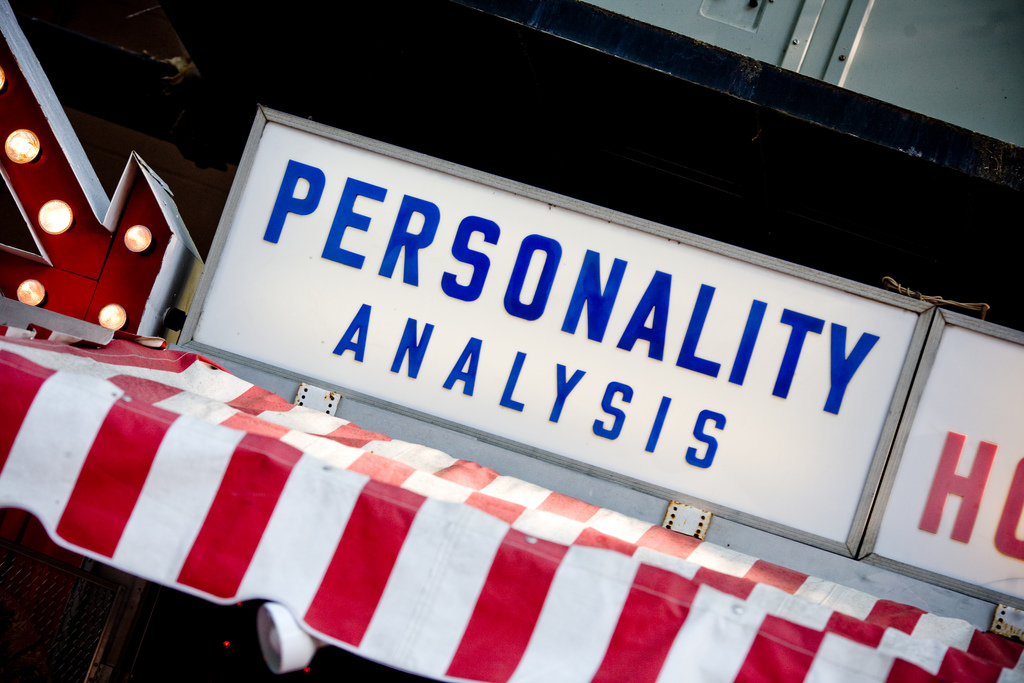 an analysis of personality test Take our free personality test and discover what really drives you see your personality type instantly after the test completely free guidelines.
