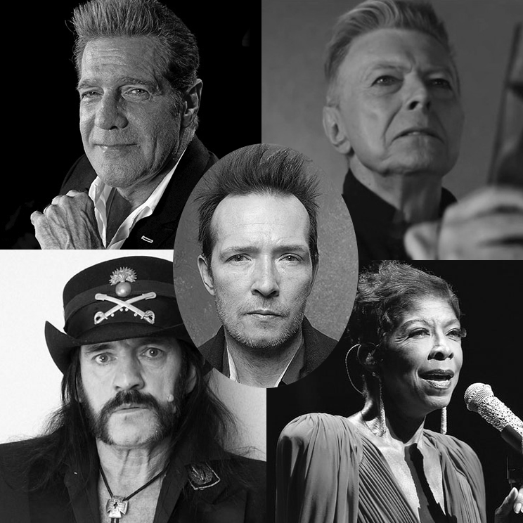 dead music stars bowie lemmy cole frey weiland